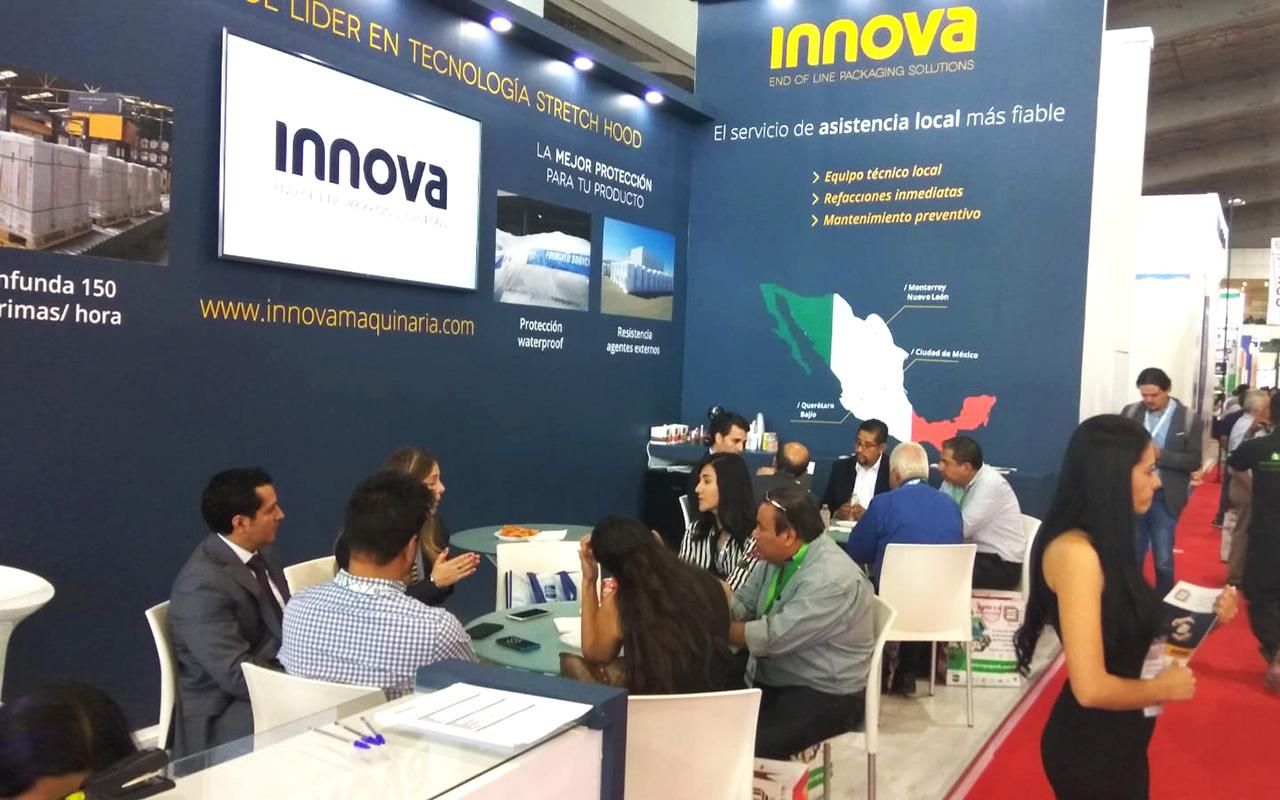 Innova Maquinaria at Expo Pack 2018